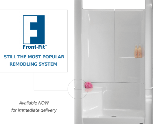 Front Fit Remodeling System Shower
