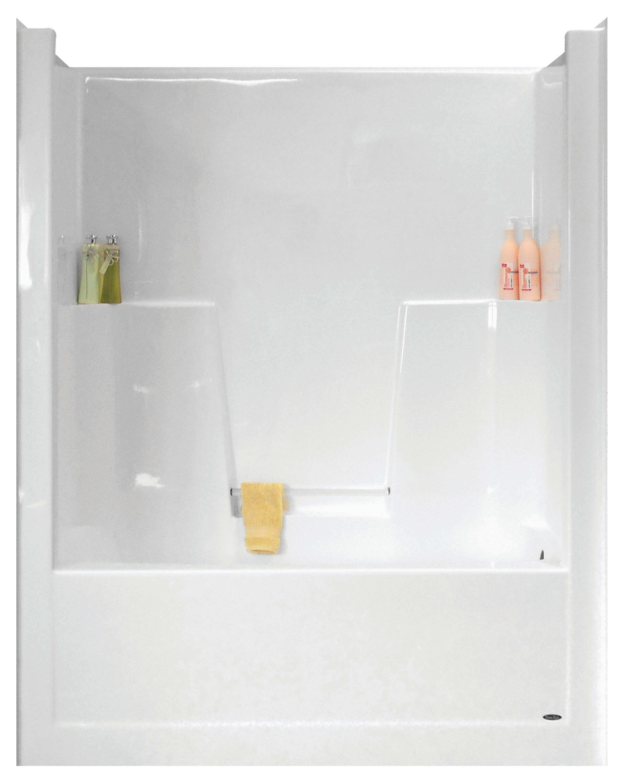 with units bathtub shower combo surround piece tub soaking small one replace wide