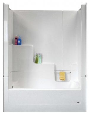 WR 744-D-FF & WR 745-D-FF Tub Shower 3 Piece